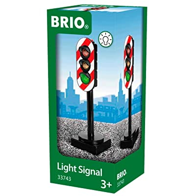 BRIO World - 33743 Light Signal | Toy Train Accessory for Kids Ages 3 and Up: Toys & Games