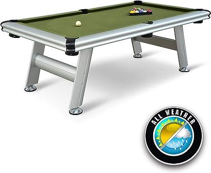 EastPoint Deportes al Aire Libre Mesa de Billar de Aluminio, 87-Inch: Amazon.es: Deportes y aire libre