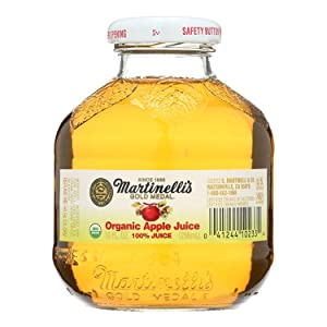 Martinelli's Apple Juice, Organic, 10 Ounces (Case of 12)