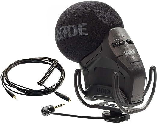 Rode VideoMic Pro SVMP – Micrófono estéreo + VC1 Cable: Amazon.es: Electrónica