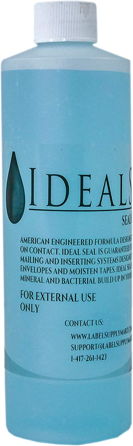 Preferred Postage Supplies One Pint (16 oz Total) of Sealing Solution DM Series Mailing Systems