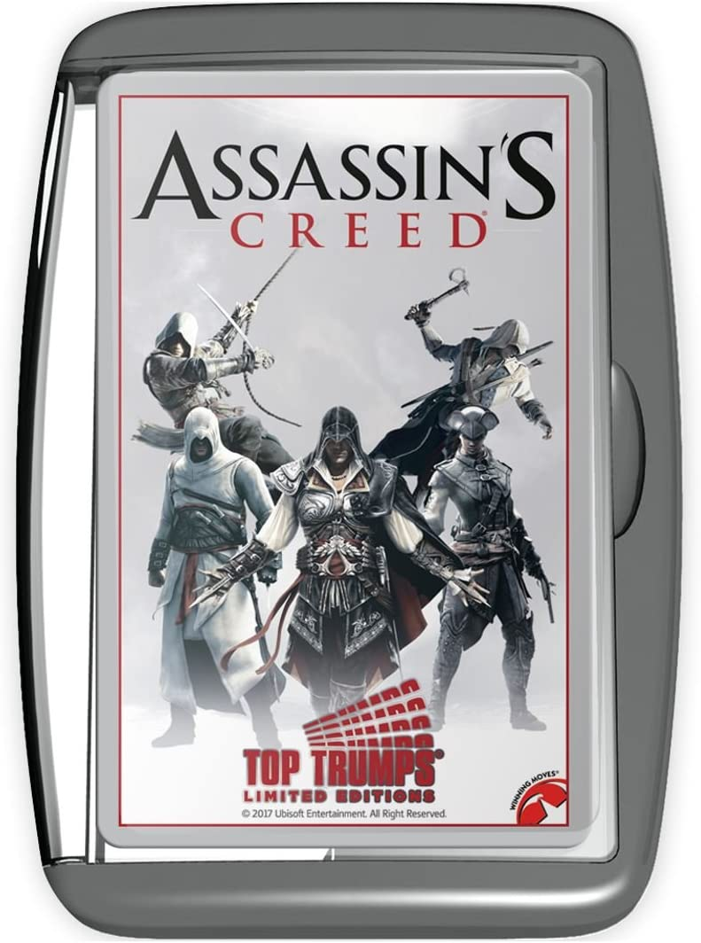 Amazon Com Top Trumps Assassin S Creed Card Game Toys Games