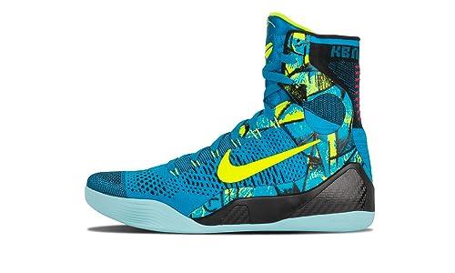 952552b80387 Nike Kobe IX 9 Perspective Elite Mens Basketball Shoes Neo Turquoise   Amazon.co.uk  Shoes   Bags