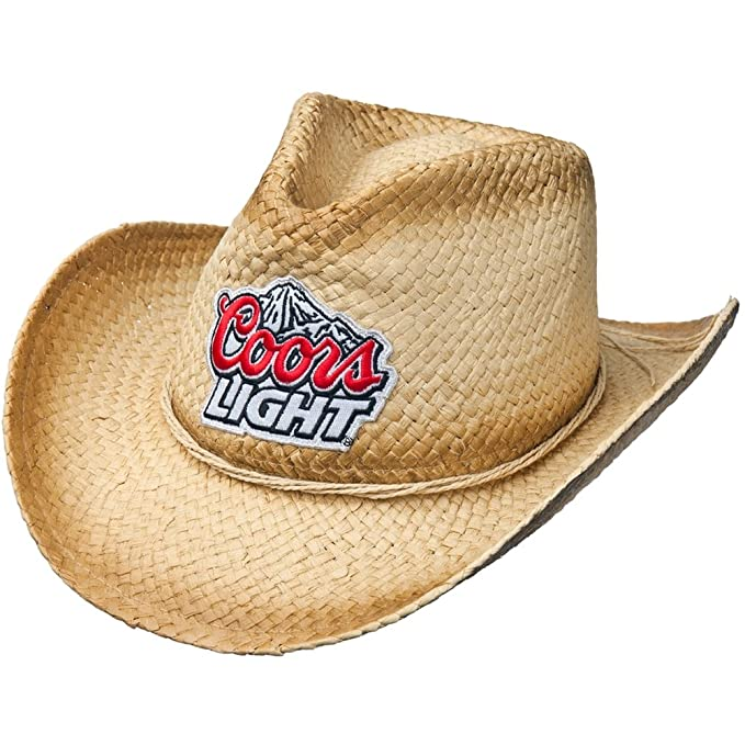 Coors Light - Mountain Logo Straw Cowboy Hat  Amazon.ca  Clothing    Accessories e1e66970a13