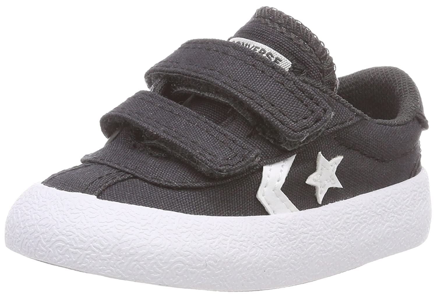 Converse Unisex Babies' Breakpoint 2v Ox Almost Black Birth Shoes 760760C