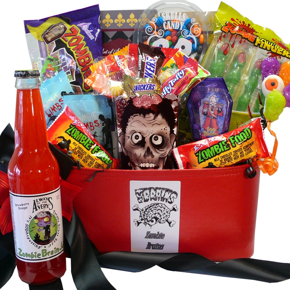 Amazon zombie liscious eat or be eaten halloween gift amazon zombie liscious eat or be eaten halloween gift basket gourmet snacks and hors doeuvres gifts grocery gourmet food negle Gallery