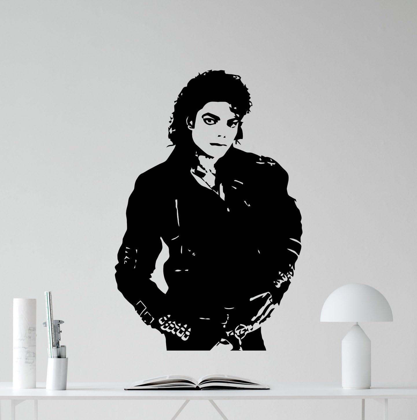 MICHAEL JACKSON Vinyl Wall art sticker decal mural music