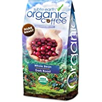 2LB Cafe Don Pablo Subtle Earth Organic Gourmet Coffee - Dark Roast - Whole Bean Coffee - USDA Certified Organic Arabica Coffee - (2 lb) Bag