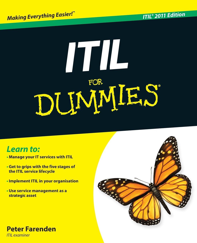 Amazon Itil For Dummies 9781119950134 Peter Farenden Books