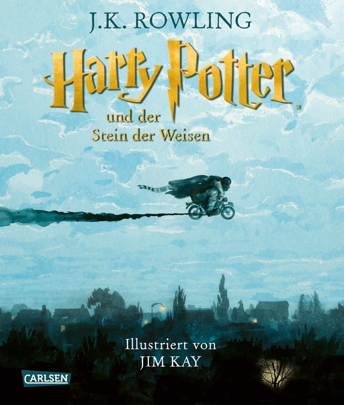 Harry Potter Und Der Stein Der Weisen Farbig Illustrierte Schmuckausgabe Harry Potter 1 9783551318688 Amazon Com Books