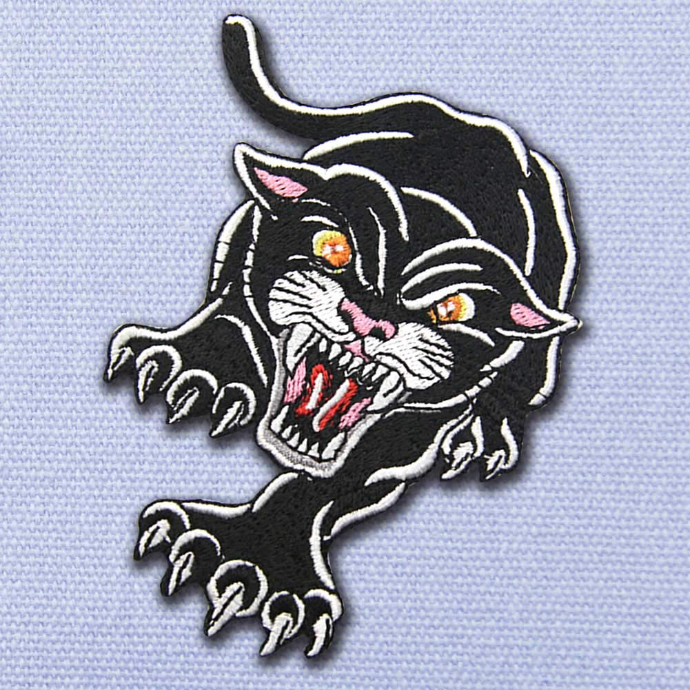 The Roaring Gorilla Patch Embroidered Applique Iron On Sew On Emblem