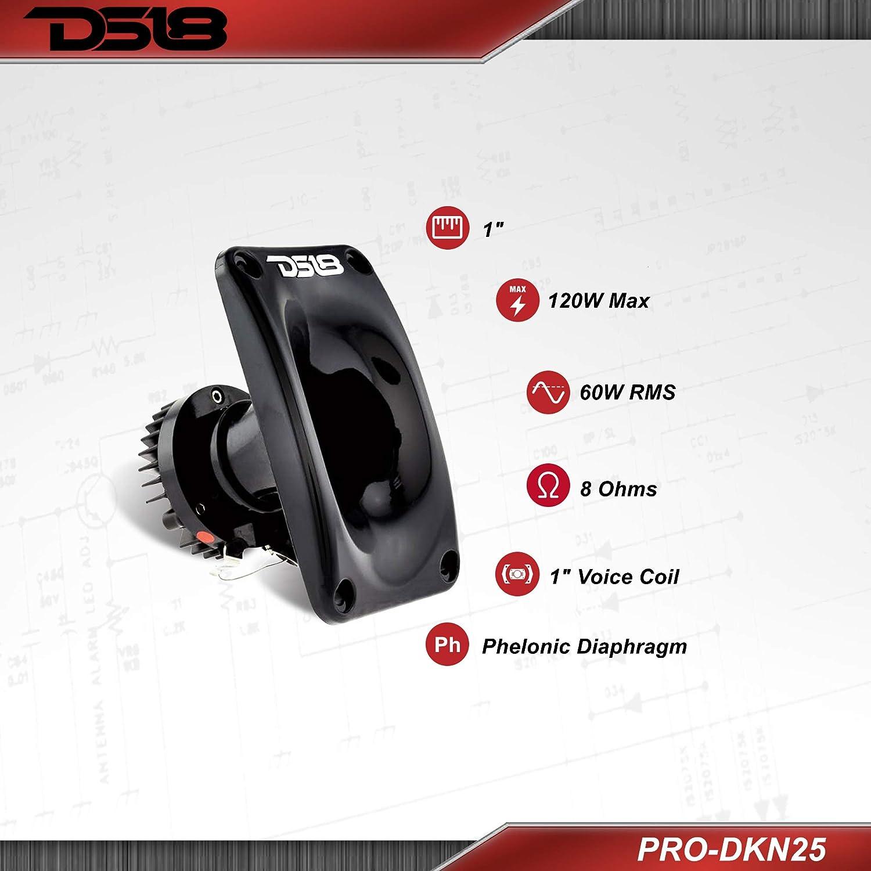 Compression Super Driver Loud Speaker Horn Tweeter 8 Ohm 240W DS18 PRO-DKN25
