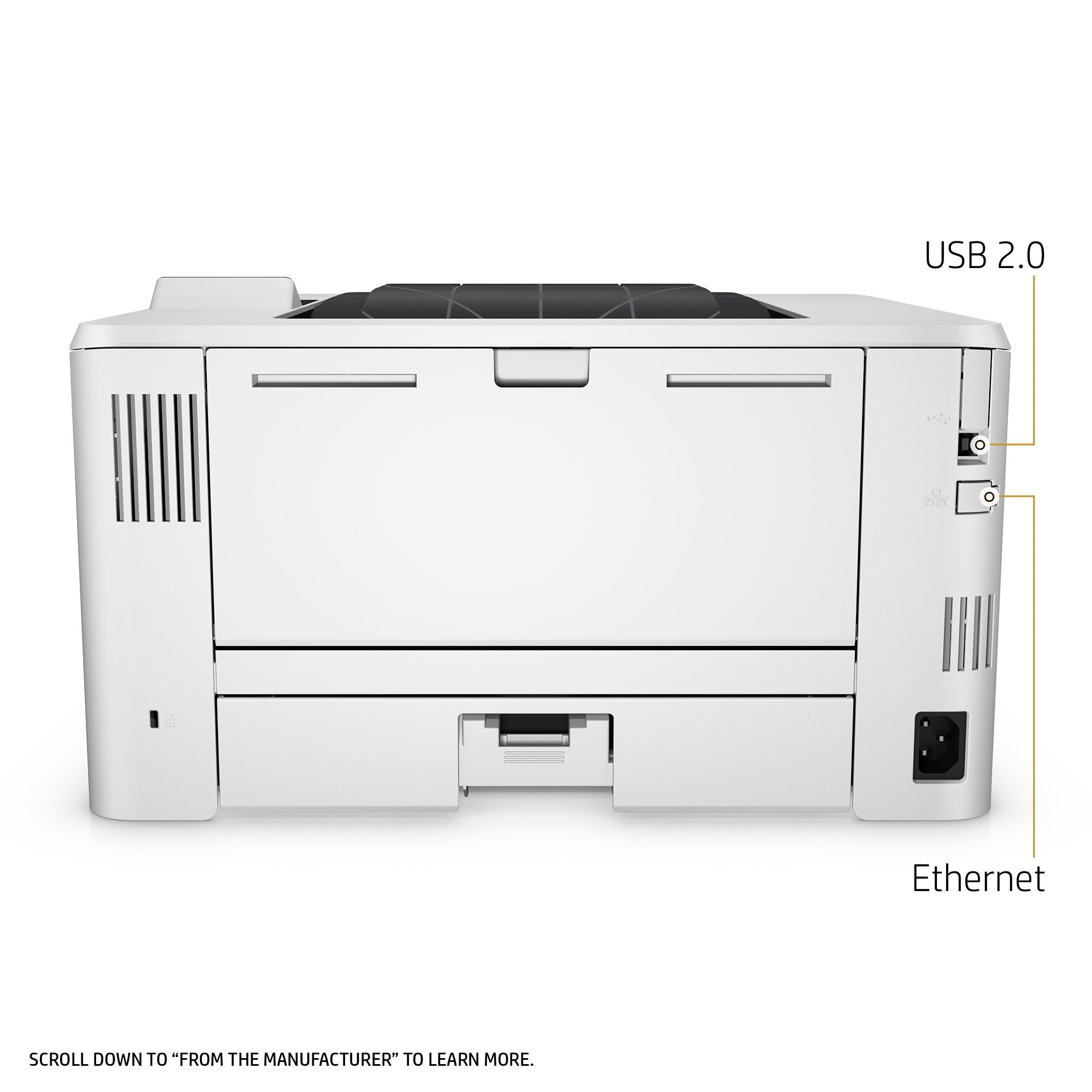 HP Laserjet Pro M402n Monochrome Printer, (C5F93A) (Renewed) by HP (Image #6)