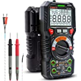 KAIWEETS Digital Multimeter TRMS 6000 Counts Ohmmeter Auto-Ranging Fast Accurately Measures Voltage Current Amp…
