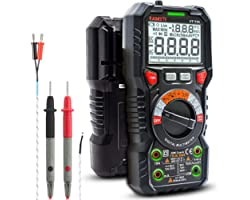 KAIWEETS Digital Multimeter TRMS 6000 Counts Voltmeter Auto-Ranging Fast Accurately Measures Voltage Current Amp Resistance D
