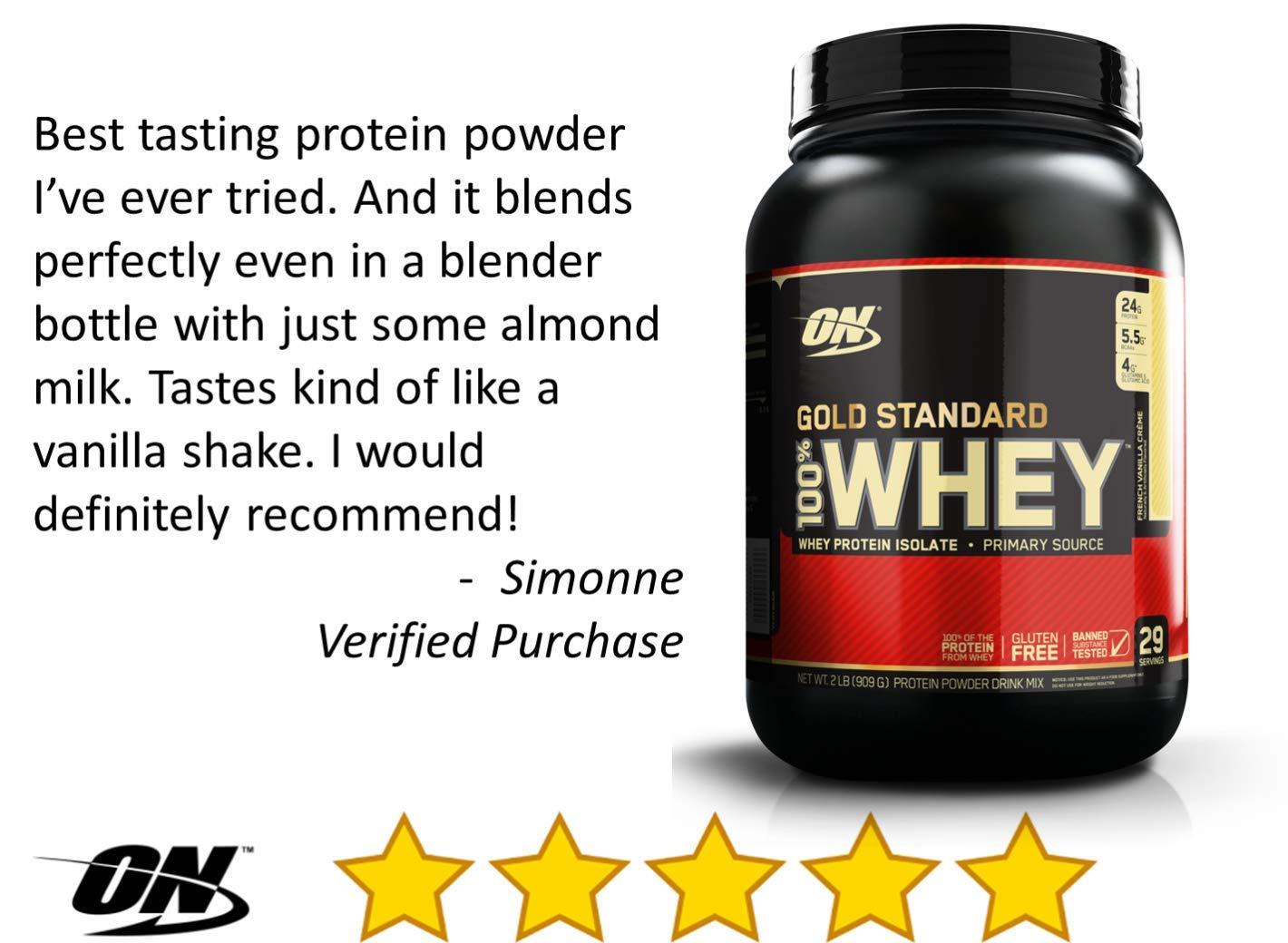 dcf43eed4 OPTIMUM NUTRITION GOLD STANDARD 100% Whey Protein Powder