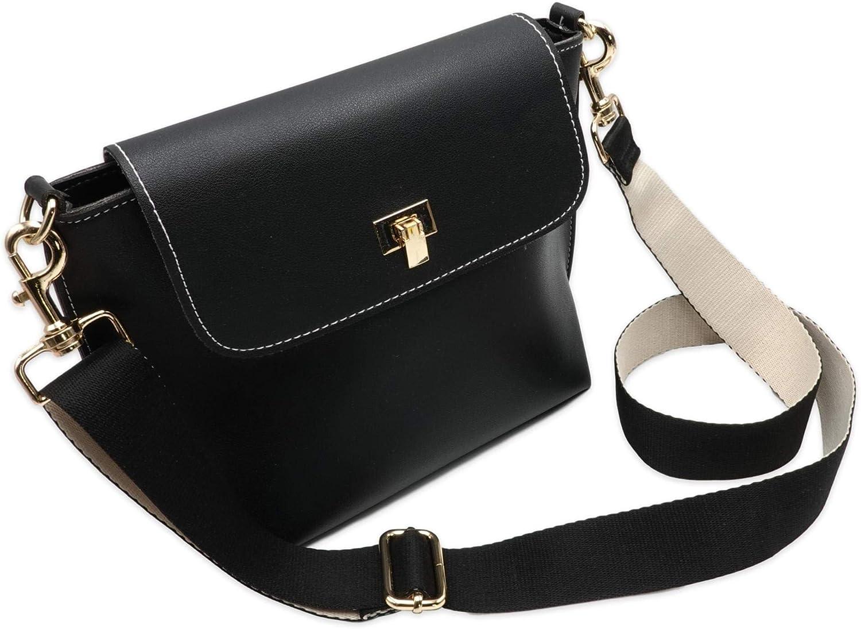Trageriemen f/ür Handtaschen Bag Strap BENAVA Schulterriemen f/ür Taschen Schwarz Bunte Taschengurte Breit Verstellbar