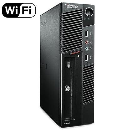 Lenovo ThinkCentre M91p Small Form Business Desktop Computer PC (Intel  i5-2400, 8GB Ram, 240GB Brand New Solid State, Wireless WIFI) Windows 10
