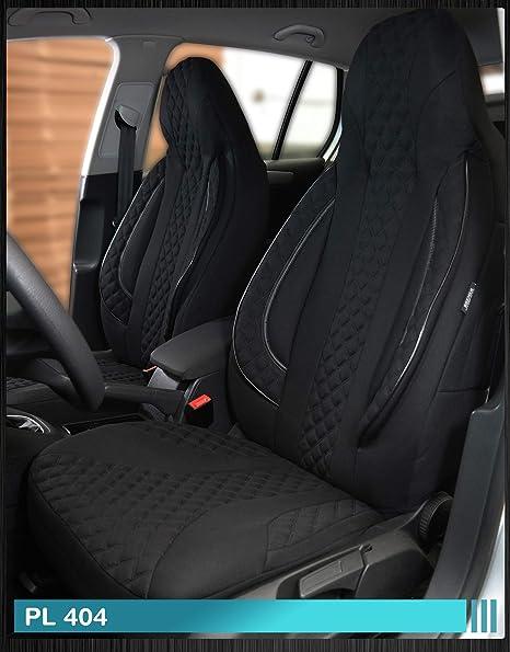 Fundas de asiento compatibles con VW Polo 6R/6C conductor y ...