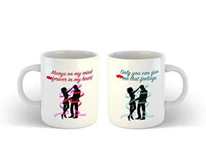 Buy Ikraft Couple Gift Set Always On My Mind Forever In My Heart