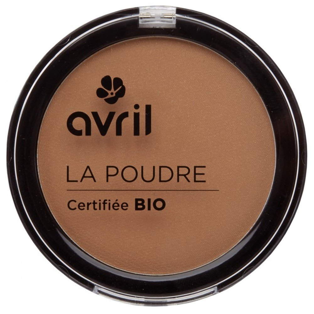 Avril Natural Compact Powder Certified Organic - Camel