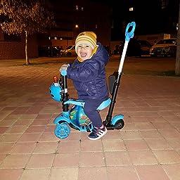 Yorbay Patinete Scooter Freestyle 3 en 1 Walker Trole Scooter 3 ...