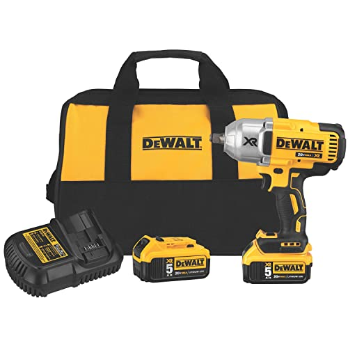 DEWALT Tools DWTDCF899HP2 Impact Wrench 20V Brushless HT 1 2 Hog Ring