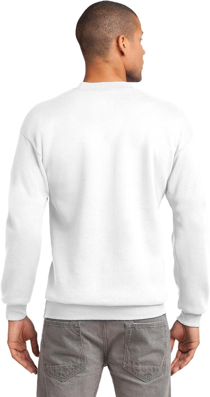 Port /& Company Mens Essential Pill Resistant Long Sleeve Crewneck Sweatshirt