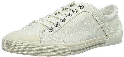 Calvin Klein Giselle, Damen Sneaker Weiß weiß 39