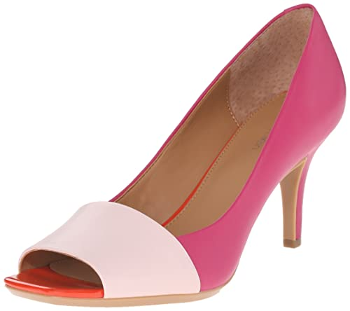 Womens Shoes Calvin Klein Patna Dancer Pink/Jazzberry Leather