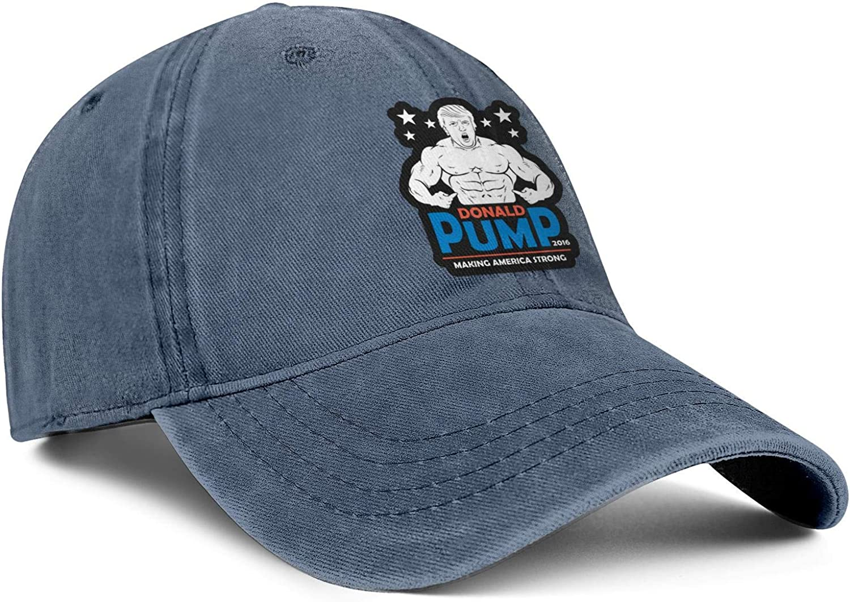 Convenient Jeans Baseball Caps for Men Conquer-Gym-Logo Unisex Dad Hats Adjustable Snapback