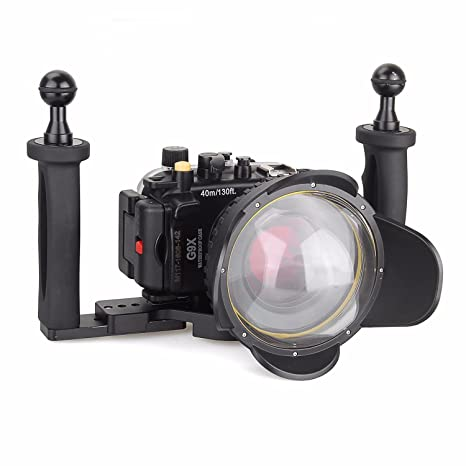 Amazon.com: EACHSHOT 40 m/130ft Buceo Vivienda para cámara ...