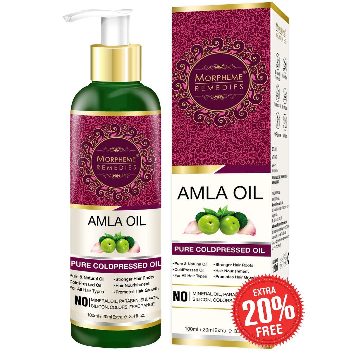Morpheme Remedies Pure Amla Oil, 120 ml product image