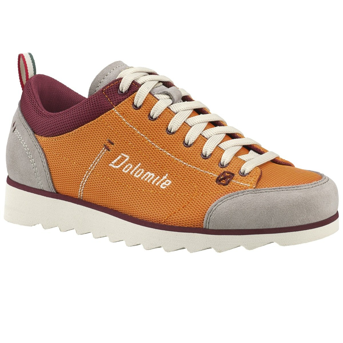 Dolomite Herren Freizeitschuhe Cinquantaquattro Travel Sport Orange/Burgundy ROT 8 UK