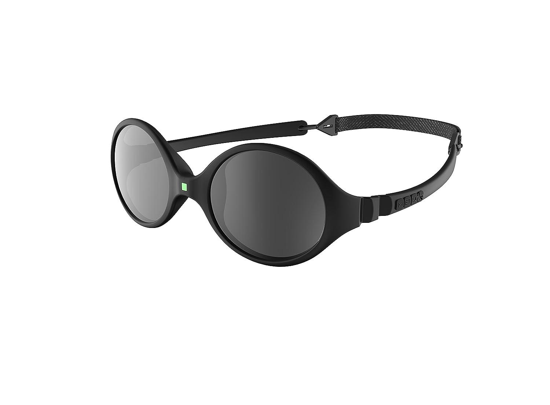 Ki ET LA Diabola - Gafas de Sol, Color Negro, 0-18 Meses