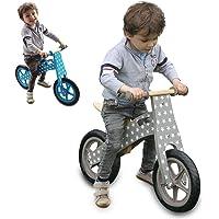 Monsieur Bébé ® Bicicleta Infantil de Madera, Bicicleta