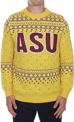 ASU Sun Devils Ugly Christmas Sweater Tipsy Elves Mens Arizona State University Sweater