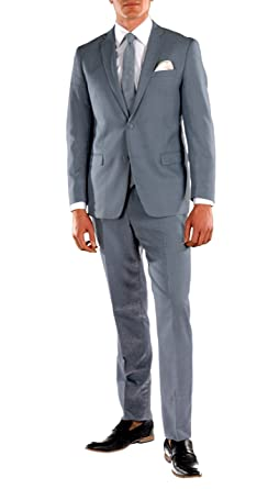 Ferrecci-Zonettie Mens 2 pc 2 Button Premium Slim Fit Suits at ...