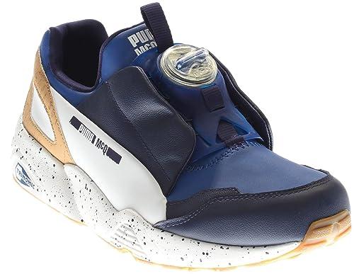 a21eabbf902 PUMA Men s MCQ Disc Blue Surf The Web Astral Aura White Athletic Shoe