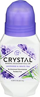 product image for Crystal Mineral Deodorant Roll-On, Lavender & White Tea 2.25 oz