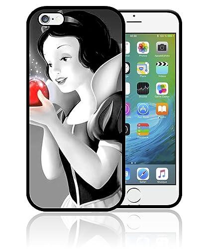 Coque iPhone 4S 5S SE 5C 6S 7 8 Plus X XS MAX XR Blanche Neige ...