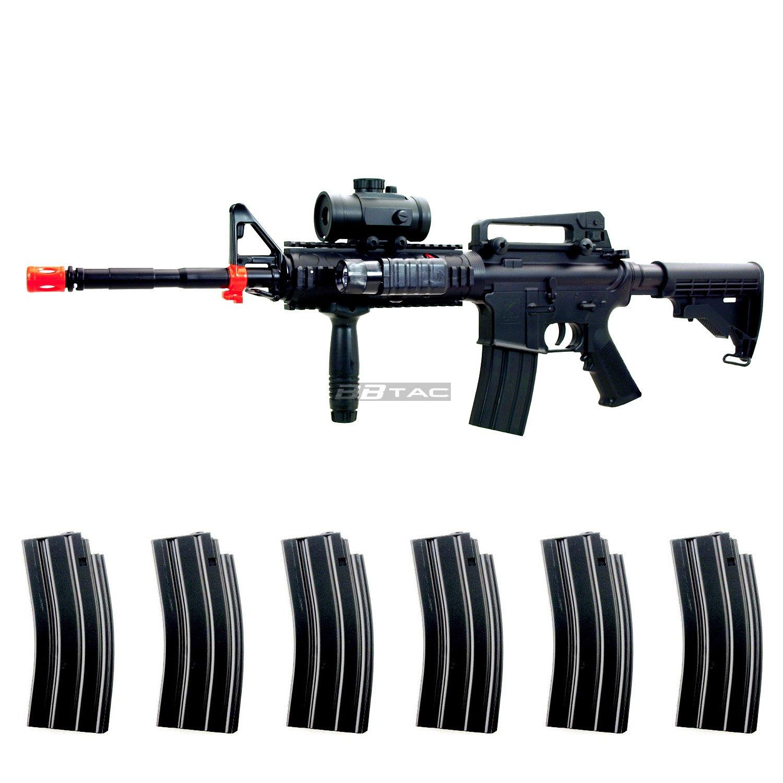 amazon com bbtac m83 full auto electric power lpeg airsoft gun
