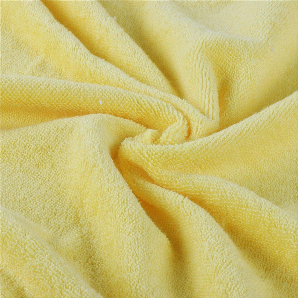 Golden Rule Premium Kapuzen Baby Badetuch Waschlappen Gelb Super Dick und weich und saugf/ähig Bambus Bad Handt/ücher f/ür Neugeborene Jungen oder M/ädchen /& Kids