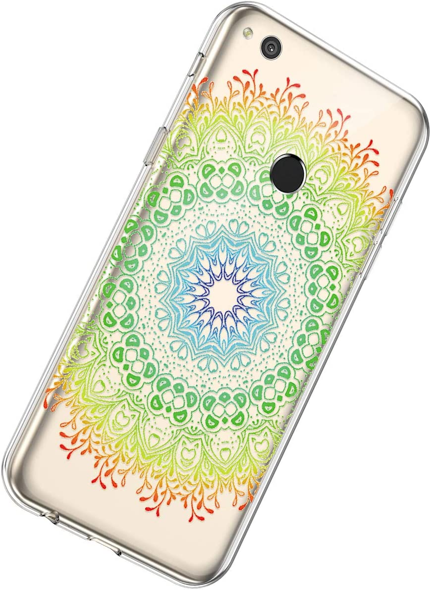 Herbests Compatible with Huawei P8 Lite 2017 Case TPU Silicone ...