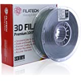 Filatech PLA Filament, Silver, 1.75 mm, 1 Kg