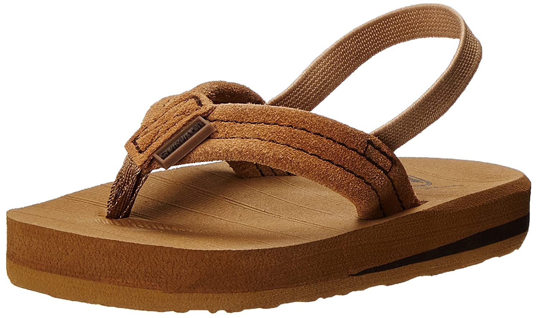 87ecfd3fd80e Quiksilver Carver Suede Toddler Flip Flop (Toddler)  Amazon.in  Shoes    Handbags