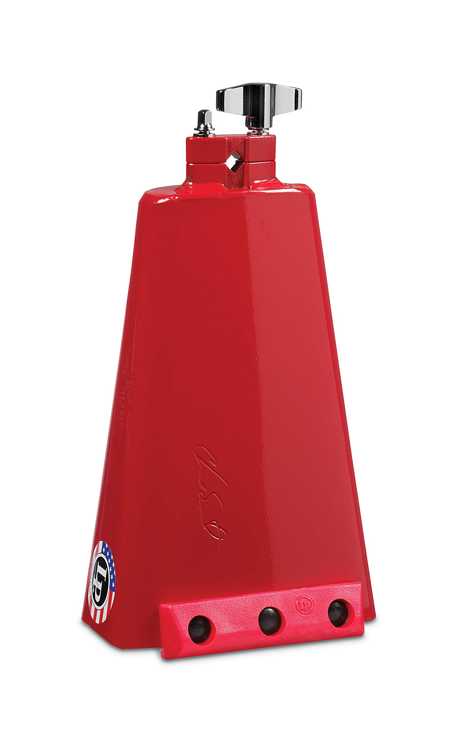 LP Chad Smith Signature Ridge Rider Red Hot Bell Cowbell LP008CS by Latin Percussion