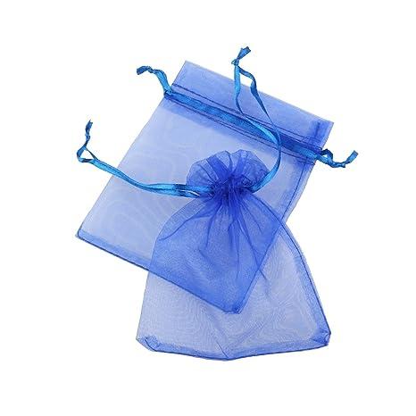 ROSENICE Bolsa de Organza Bolsitas de tela de saco bolsas de ...