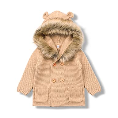 76a59c87c VEMOW Baby Coat Infant Girls Boys Kids Dress Clothes Cute Spring ...