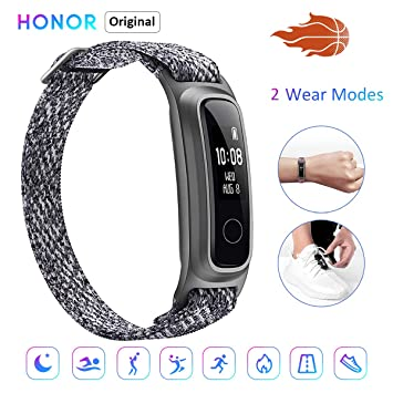HONOR Band 5 Sport Smart Watch, Activity Tracker Monitoreo Baloncesto, Monitoreo Postura en Ejecución, Pulsera de Material ecológico, Dos Formas de ...